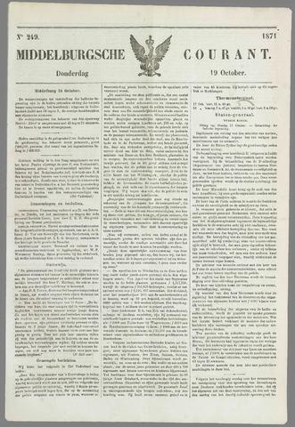 Middelburgsche Courant 1871-10-19
