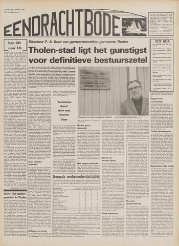 Eendrachtbode (1945-heden)/Mededeelingenblad voor het eiland Tholen (1944/45) 1973