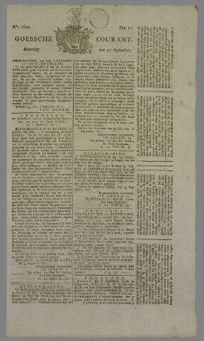 Goessche Courant 1820-09-25