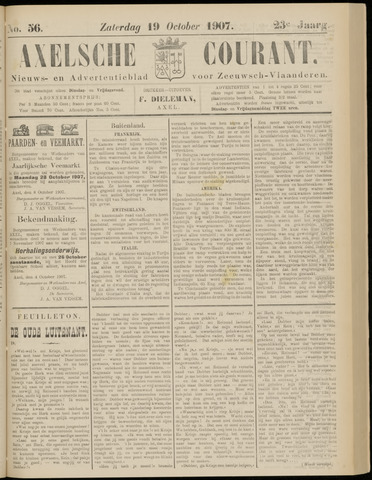 Axelsche Courant 1907-10-19