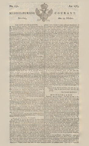 Middelburgsche Courant 1763-10-29