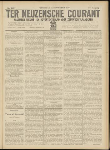 Ter Neuzensche Courant. Algemeen Nieuws- en Advertentieblad voor Zeeuwsch-Vlaanderen / Neuzensche Courant ... (idem) / (Algemeen) nieuws en advertentieblad voor Zeeuwsch-Vlaanderen 1937-09-15