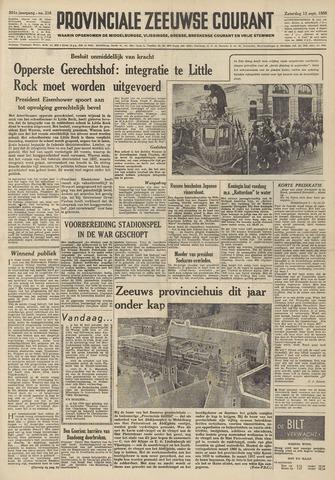 Provinciale Zeeuwse Courant 1958-09-13