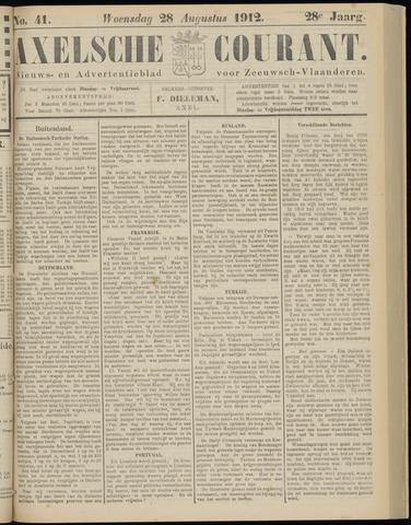 Axelsche Courant 1912-08-28