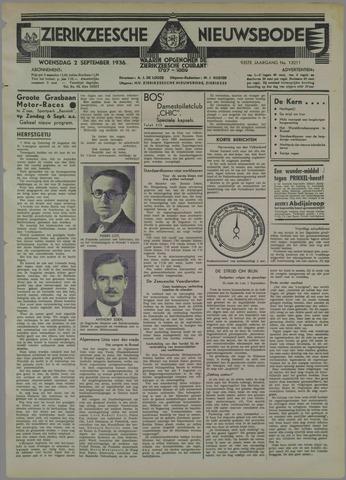 Zierikzeesche Nieuwsbode 1936-09-02