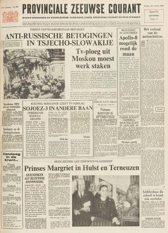 Provinciale Zeeuwse Courant 1968-10-29