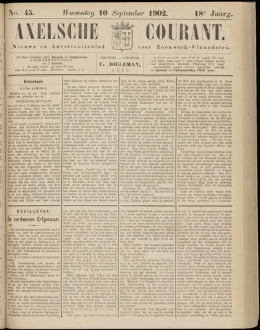 Axelsche Courant 1902-09-10