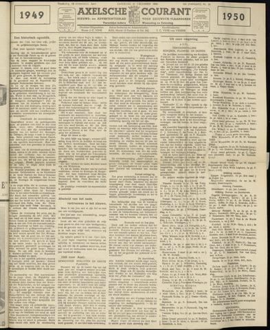 Axelsche Courant 1949-12-31