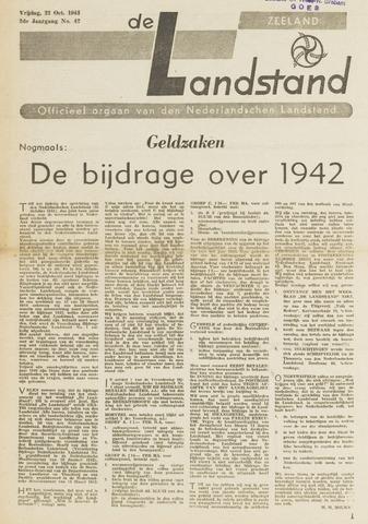 De landstand in Zeeland, geïllustreerd weekblad. 1943-10-22