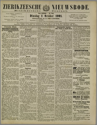 Zierikzeesche Nieuwsbode 1901-10-01