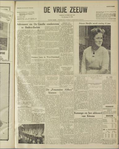 de Vrije Zeeuw 1962-02-16