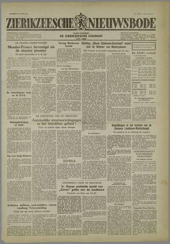 Zierikzeesche Nieuwsbode 1954-06-19