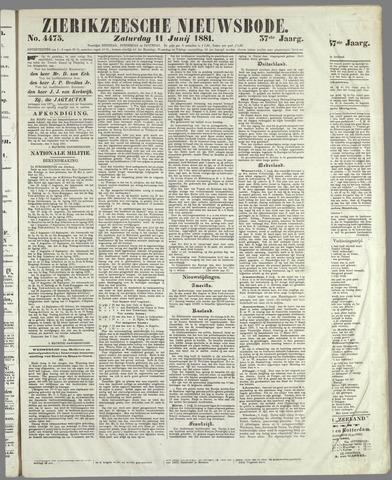 Zierikzeesche Nieuwsbode 1881-06-11