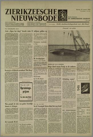 Zierikzeesche Nieuwsbode 1963-01-29