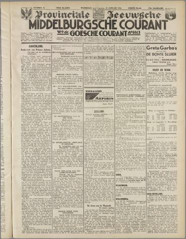 Middelburgsche Courant 1936-01-22