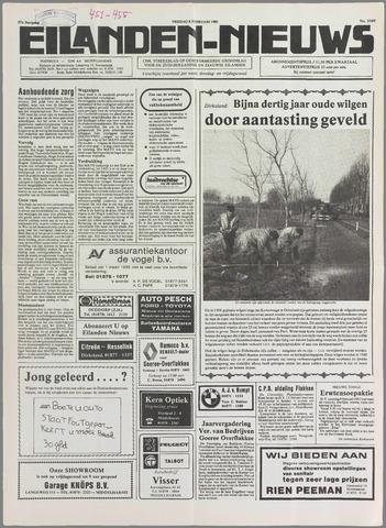 Eilanden-nieuws. Christelijk streekblad op gereformeerde grondslag 1985-02-08