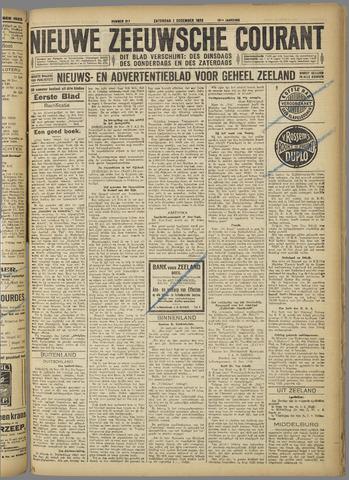 Nieuwe Zeeuwsche Courant 1923-12-01