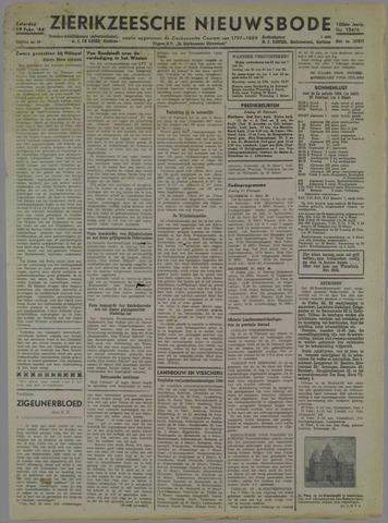 Zierikzeesche Nieuwsbode 1944-02-19