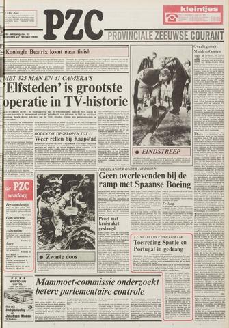 Provinciale Zeeuwse Courant 1985-02-20
