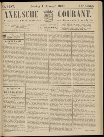 Axelsche Courant 1899
