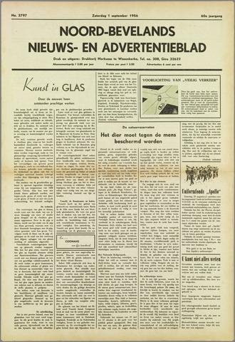 Noord-Bevelands Nieuws- en advertentieblad 1956-09-01