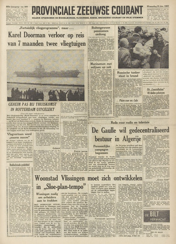 Provinciale Zeeuwse Courant 1960-12-21