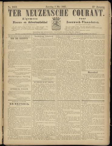 Ter Neuzensche Courant. Algemeen Nieuws- en Advertentieblad voor Zeeuwsch-Vlaanderen / Neuzensche Courant ... (idem) / (Algemeen) nieuws en advertentieblad voor Zeeuwsch-Vlaanderen 1897-05-01