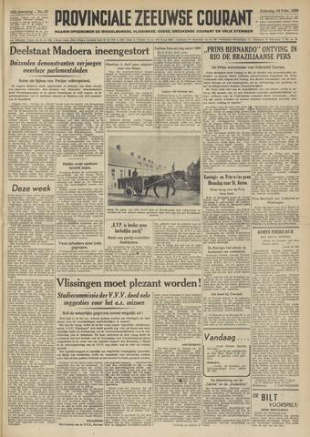 Provinciale Zeeuwse Courant 1950-02-18