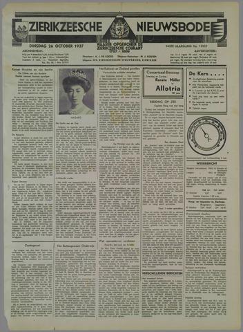 Zierikzeesche Nieuwsbode 1937-10-26