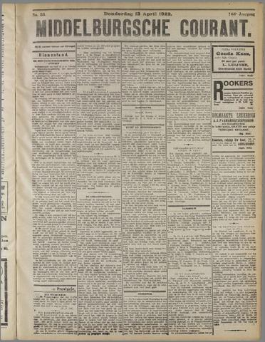 Middelburgsche Courant 1922-04-13