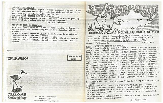 de Steltkluut 1975-04-01