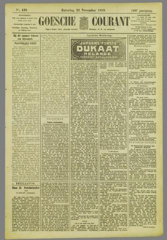Goessche Courant 1919-11-22