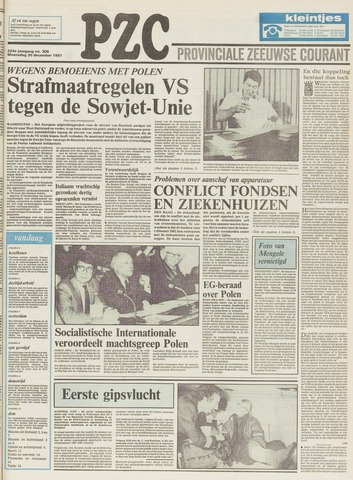 Provinciale Zeeuwse Courant 1981-12-30