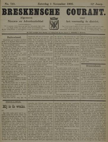 Breskensche Courant 1902-11-01