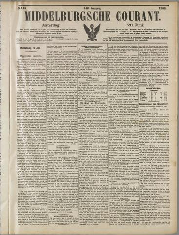 Middelburgsche Courant 1903-06-20