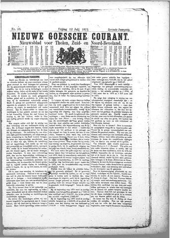 Nieuwe Goessche Courant 1872-07-12