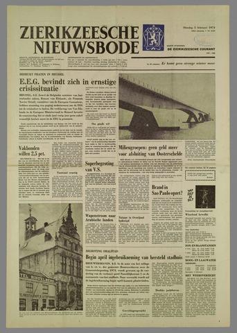 Zierikzeesche Nieuwsbode 1974-02-05