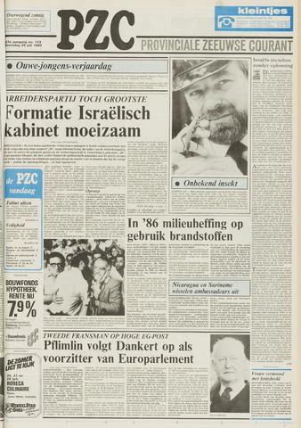 Provinciale Zeeuwse Courant 1984-07-25