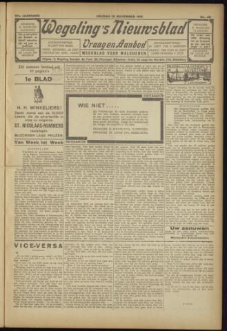 Zeeuwsch Nieuwsblad/Wegeling's Nieuwsblad 1931-11-13