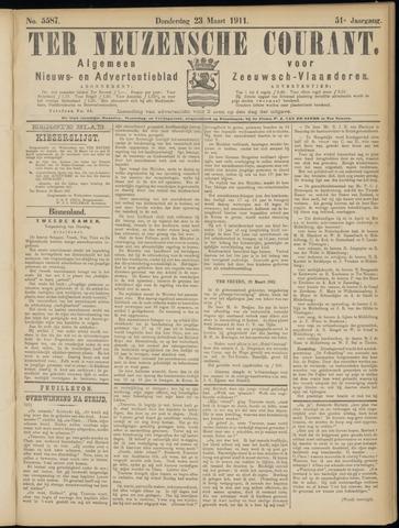 Ter Neuzensche Courant. Algemeen Nieuws- en Advertentieblad voor Zeeuwsch-Vlaanderen / Neuzensche Courant ... (idem) / (Algemeen) nieuws en advertentieblad voor Zeeuwsch-Vlaanderen 1911-03-23