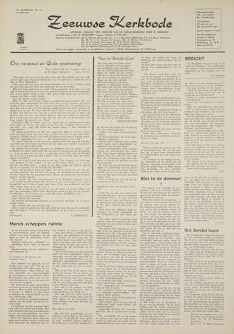 Zeeuwsche kerkbode, weekblad gewijd aan de belangen der gereformeerde kerken/ Zeeuwsch kerkblad 1969-05-14