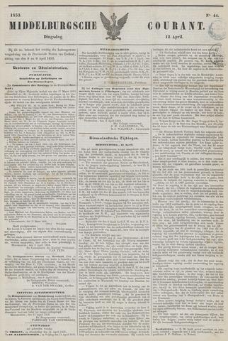 Middelburgsche Courant 1853-04-12