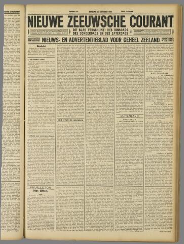 Nieuwe Zeeuwsche Courant 1928-10-30
