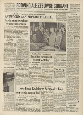 Provinciale Zeeuwse Courant 1961-08-26