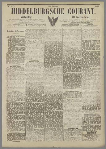Middelburgsche Courant 1895-11-23