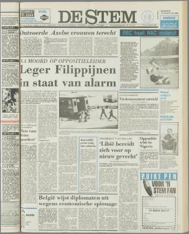 de Stem 1983-08-22