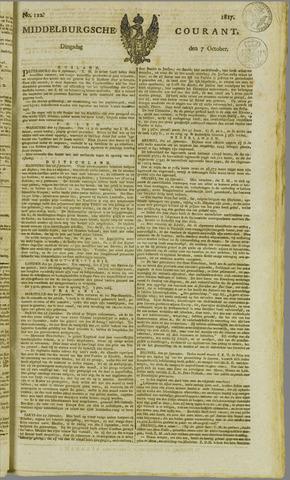 Middelburgsche Courant 1817-10-07