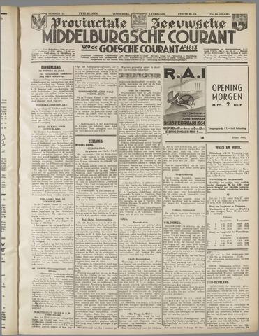 Middelburgsche Courant 1934-02-08