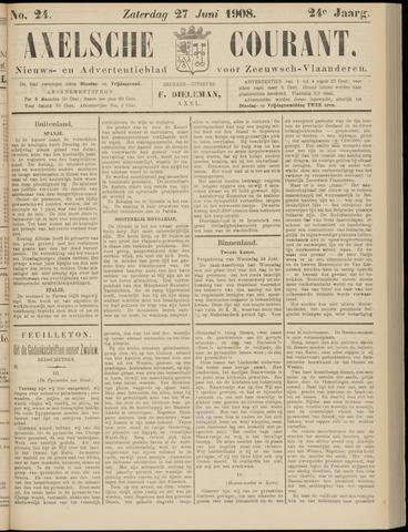 Axelsche Courant 1908-06-27
