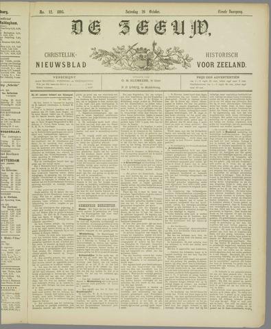De Zeeuw. Christelijk-historisch nieuwsblad voor Zeeland 1895-10-26